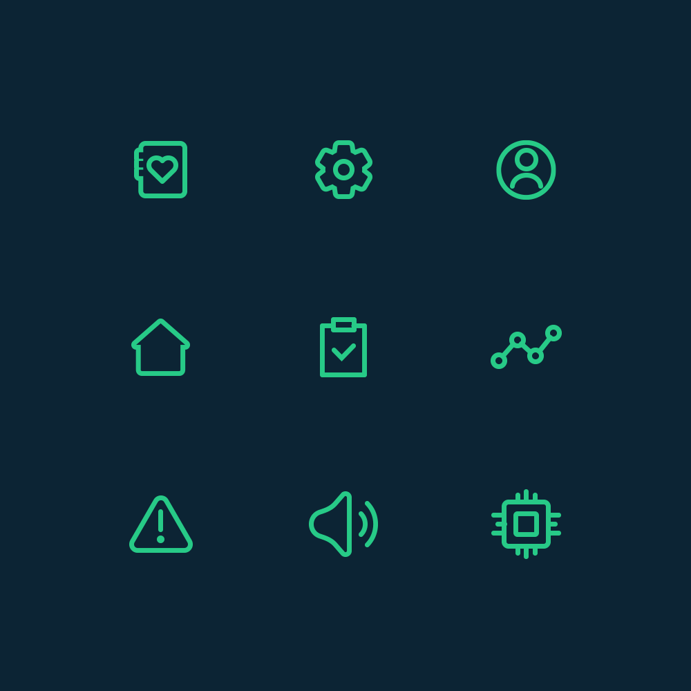 Donisi Health icons